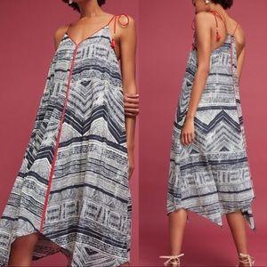 ✨ANTHRO Midi Dress with Asymmetrical Hem✨